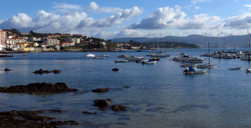 Sanxenxo Kustplaats Spanje