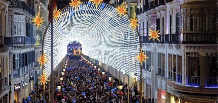 Málaga tijdens de feestdagen