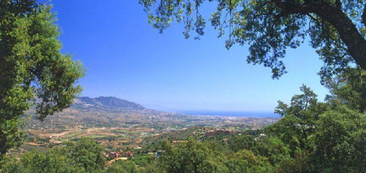 View from Mairena, Elviria, Marbella