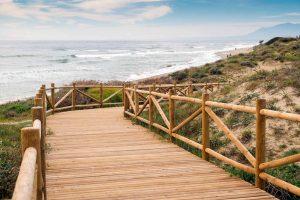 Strand van Cabopino, Marbella, Spanje