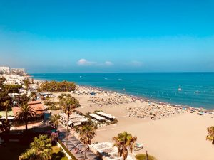 Playa de la Carihuela, Torremolinos, Spanje