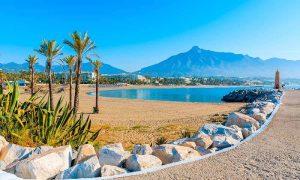 Strand Puerto Banus - Marbella - Spanje